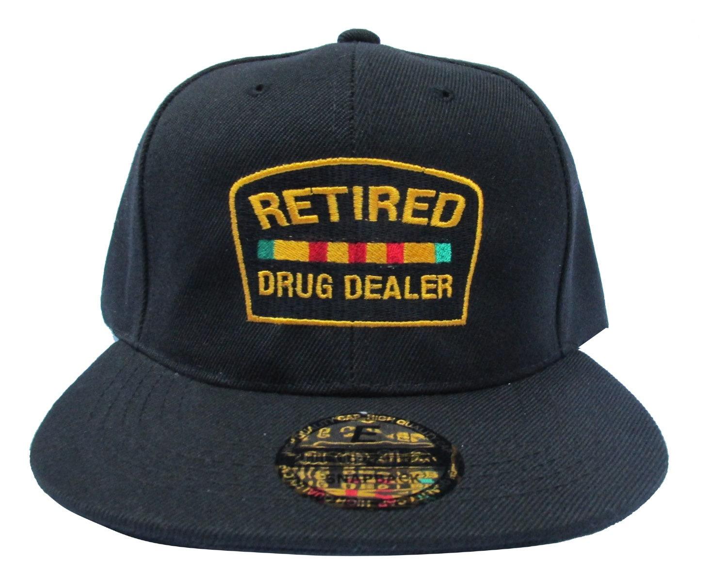 40d889e52f7 Custom Retired Drug Dealer Bk Emoji Meme Jay Z Snapback Hat