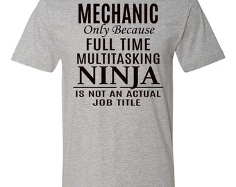 "Shop ""mechanic gifts"" in Clothing"