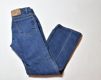 Vintage Levis 517 High Waisted Mom Jeans