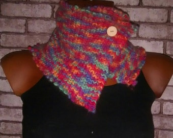 neck scarf boho hippie pop neck scarf
