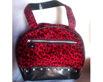 Bolso punk leopardo emo gothic bag