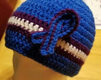 Adult size Rheumatoid Arthritis Awareness hat
