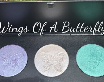 Wings Of A Butterfly COLLECTION - HIGHLIGHTER / EYESHADOW Palette & Singles