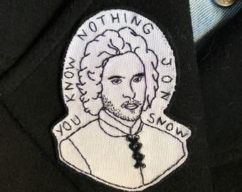 Game of Thrones Patch - Jon Snow