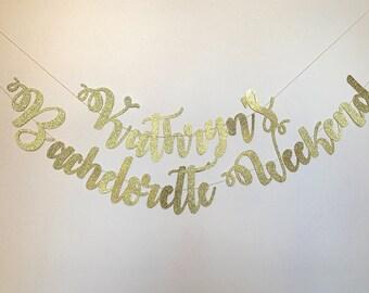 Bachelorette Banner, Bachelorette Party, Bachelorette Weekend, Bachelorette Gift, Party Banner