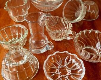 Swedish mid century glass collection