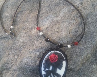Day of the Dead Pendant Necklace