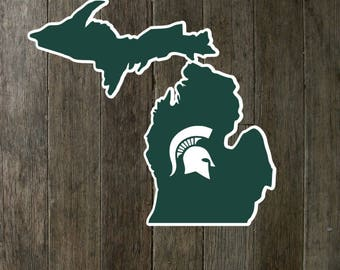 Michigan State Decal