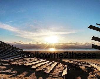Jersey Shore Sunrise Photo~Humbled 3/11/17