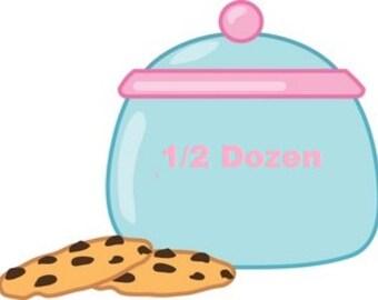 ADD ON- 1/2 dozen cookies