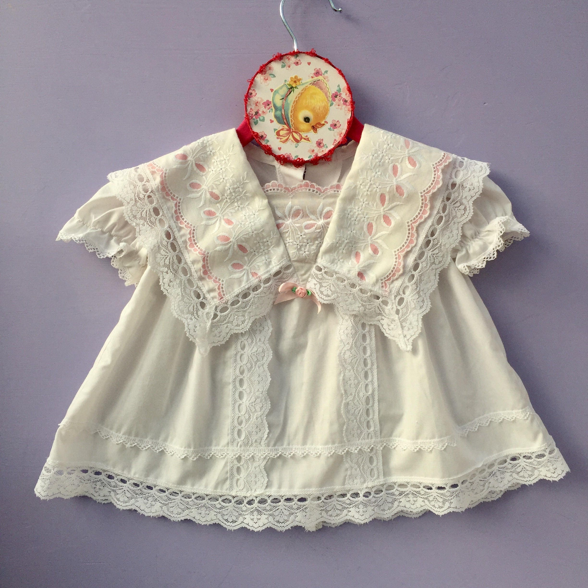 Vintage Jessica McClintock Baby Girl Dress Baby Girl Size 6 months