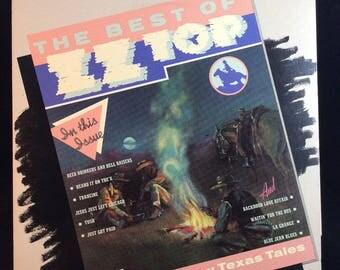 ZZ Top - The Best Of - LP vinyl record - 1977 RCA Records