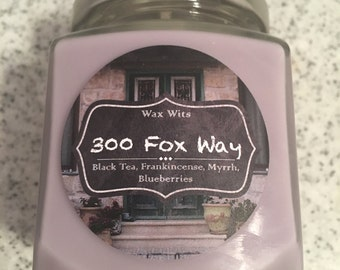 300 Fox Way - A Raven Cycle Inspired Candle