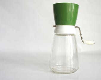 Vintage Federal Housewares Green Nut Grinder