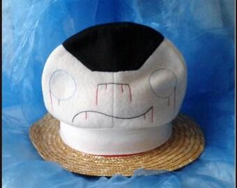 Cap onigiri design zombie hand-sewn Onigirimütze Cosplaymütze fleece