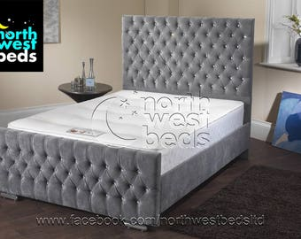 Eve Chesterfield Bed Frame