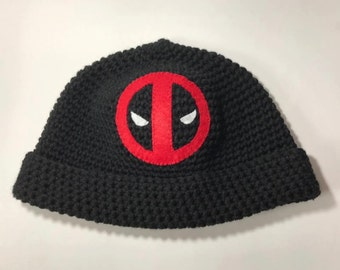 Deadpool Knit Cap