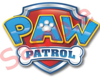 Paw Patrol Game Pin the doggy print
