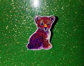 Lisa Frank Leopard PIN