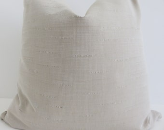 Solid Biege Pillow Covers- beige Pillow Covers- Pillows- Pillow Covers- Beige Decorative Pillows