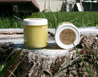 Shea Butter Vitamin E Dry Skin Balm with Raw Honey