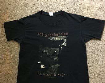 Vintage The Cranberries Shirt No Need To Argue World Tour 95