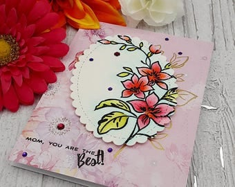 handmade mother's day greeting card