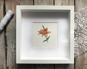 Watercolor Lily Art