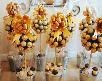 Personalised Ferrero Rocher Tree
