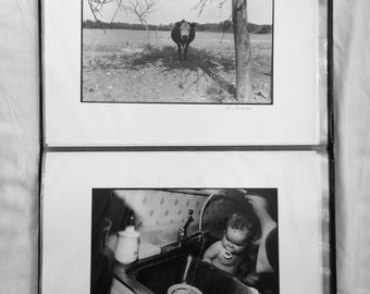 Melinda Bordelon Collection of Black and white photographs plus negatives, Melinda Bordelon, American Illustrator