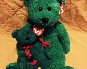 Wallace Beanie Baby and Buddy