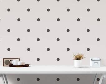 Polka dot decal, polka dot vinyl, spots, dots, vinyl dots, vinyl spots