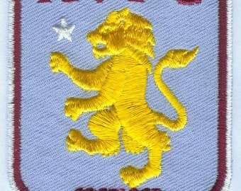 Aston Villa F.C. Football England Embroidered Patch