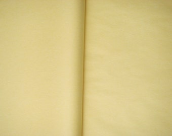 Set of 5 sheets paper silk color vanilla size 50 cm * 75 cm