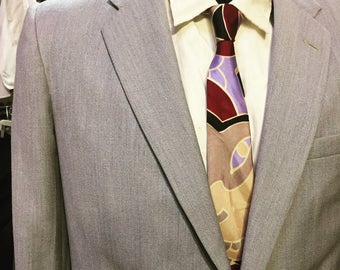 Gorgeous Grey Fahey-Brockman suit of the 1950s