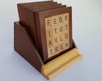 Scrabble Coasters - Set of Five