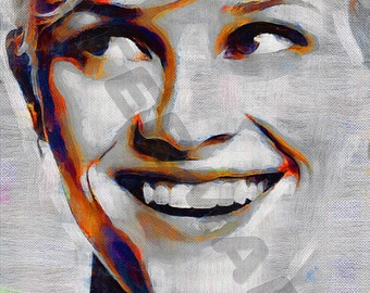 Reese Witherspoon Art Print - Oil Painting Poster  LFF0153