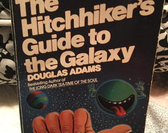 The Hitchhiker's Guide to the Galaxy, Vintage 1985 Paperback