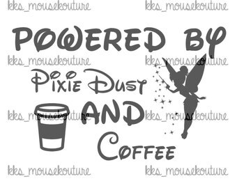 Powered by pixie dust DIY iron on Transfer