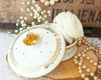 Star gold jewelry box