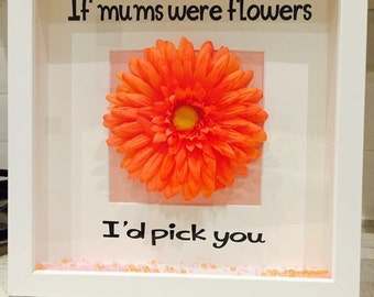 If mums were flowers frame