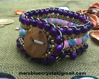 SPRING- SUMMER Bracelet Beautiful Colors