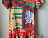 90s Festival Dress / small / medium / beachy / hipster / summer / dress / mini dress