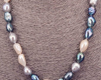 Pearl Necklace Baroque necklace PKE100