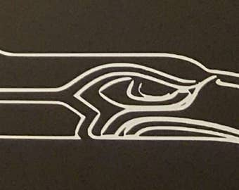 Seattle sea hawks decal vinyl