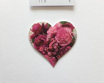 Anniversary Heart Greetings Card - Handmade