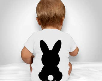 Easter Bunny TShirt Onesie Baby Vest, My 1st Easter, Celebration Gift Cute Kids
