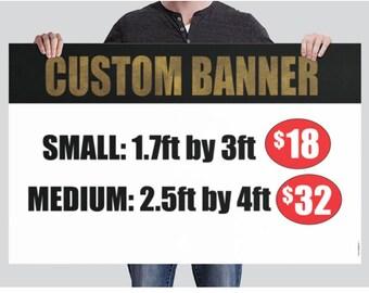 BANNER - Custom Banner - Design for you