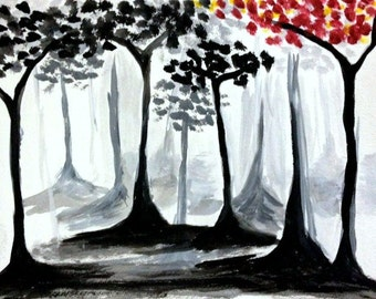 Black and Red Trees