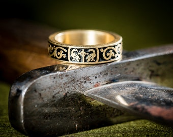 French medieval ring